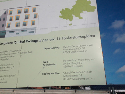 Ihr Büro für Tragwerksplanung + Statik in Rosenheim